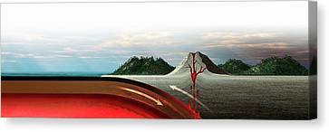 Subduction Zone Volcanism Canvas Print