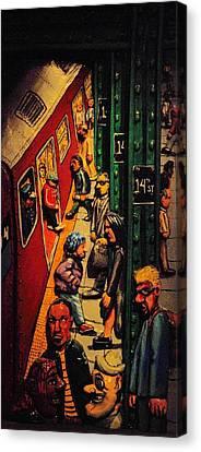 Subway Canvas Print by Rob Hans