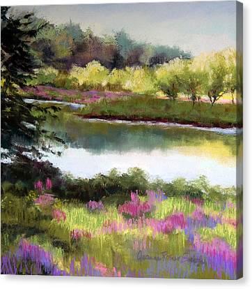 Sudbury River Canvas Print by Jeanne Rosier Smith