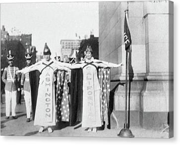 Suffragettes, 1915 Canvas Print by Granger