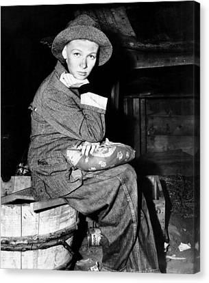 Sturges Canvas Print - Sullivans Travels, Veronica Lake, 1941 by Everett