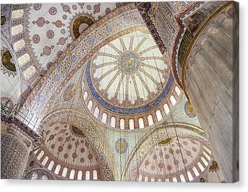 Sultanahmet Mosque Canvas Print by Brandon Bourdages