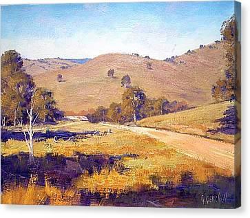 Summer Landscape Canvas Print