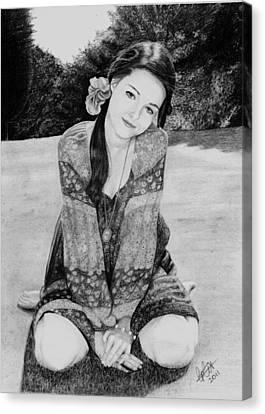 Summer Loving Canvas Print