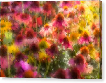 Summer's Palette Canvas Print by Heidi Smith