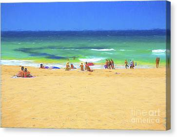 Summertime Canvas Print by Avalon Fine Art Photography