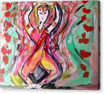 Sun Dance Canvas Print by Judith Desrosiers