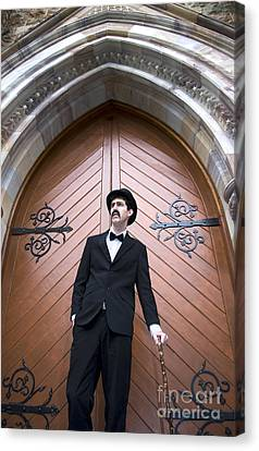 Sunday Service Man Canvas Print by Jorgo Photography - Wall Art Gallery