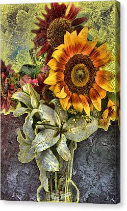 Sunflower Et Al. Canvas Print by Terence Morrissey