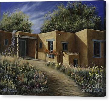 Sunny Day Canvas Print by Ricardo Chavez-Mendez