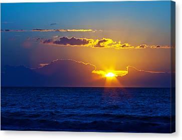 Sunrise At The Beach II Canvas Print