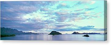 Baja California Canvas Print - Sunrise At The Islands Of Loreto by Panoramic Images