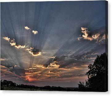 Sunrise Glory Canvas Print by Shannon Story