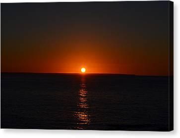 Sunrise Canvas Print by James Petersen
