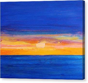 Sunrise 2012 Canvas Print