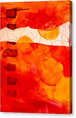 Sunrise Canvas Print by Nancy Merkle