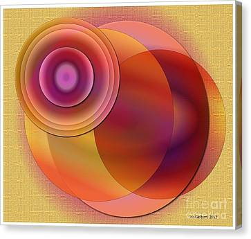Sunsational Canvas Print by Iris Gelbart