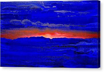 Sunset 2005 Canvas Print