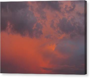Sunset Canvas Print by Michael Fitzpatrick