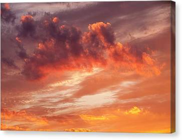 Sunset Over Loughrigg Canvas Print by Ashley Cooper