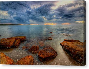 Sunset Surprise Canvas Print by Paul Svensen