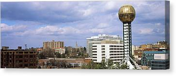 Sunsphere In Worlds Fair Park Canvas Print by Panoramic Images