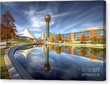 Sunsphere Canvas Print