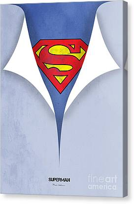Superman 9 Canvas Print by Mark Ashkenazi