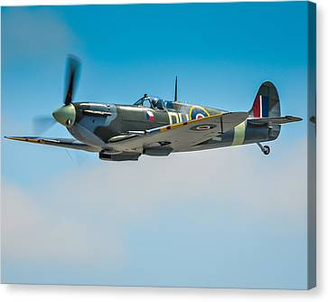 Supermarine Spitfire Mk.vc Canvas Print by Puget  Exposure