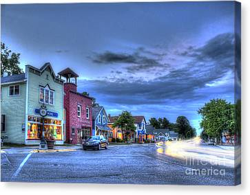 Sutton's Bay Evening Canvas Print by Twenty Two North Photography