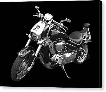 Suzuki Intruder M1800r Canvas Print
