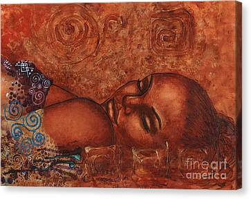 Sweet Dreams Canvas Print by Alga Washington