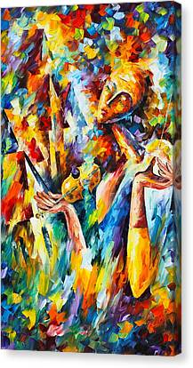 Sweet Dreams Canvas Print by Leonid Afremov