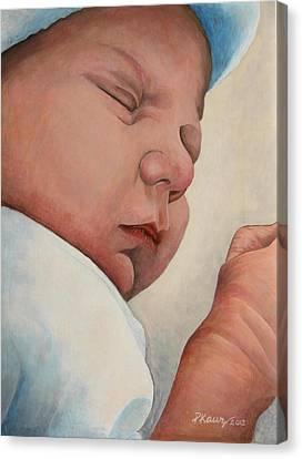 Sweet Dreams Canvas Print by Pam Kaur
