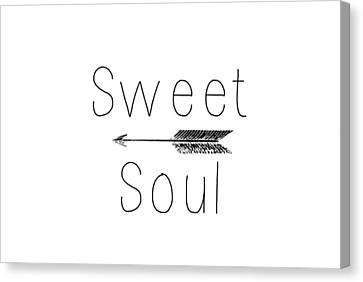 Sweet Soul Canvas Print by Chastity Hoff