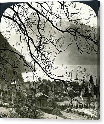 Switzerland Sisikon Canvas Print by Granger