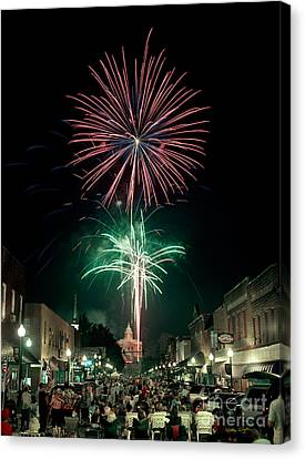 Sylva 4th Of July 2004 Canvas Print