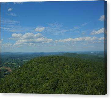 Talcott Mountain High Canvas Print by Stephen Melcher
