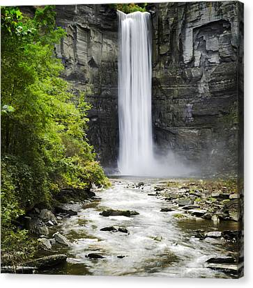 Finger Lakes Canvas Print - Taughannock Falls State Park by Christina Rollo