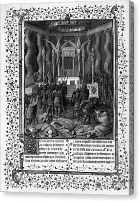 Temple Of Jerusalem Canvas Print