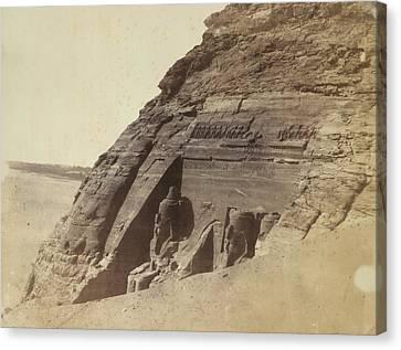 Temple Of Ramses II Canvas Print