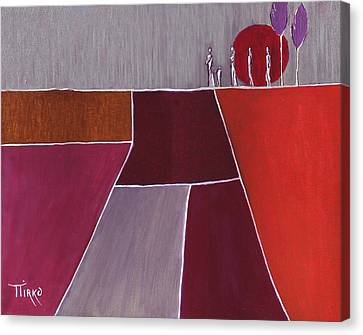 Terre De Feu - 2007 Canvas Print by Mirko Gallery