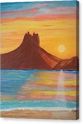 Tetakawi Canvas Print by Jorge Cristopulos