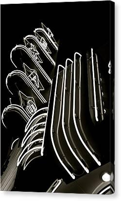 Texas Theatre Marquee Canvas Print by John Babis