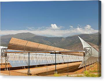 The Andasol Solar Power Station Canvas Print by Ashley Cooper
