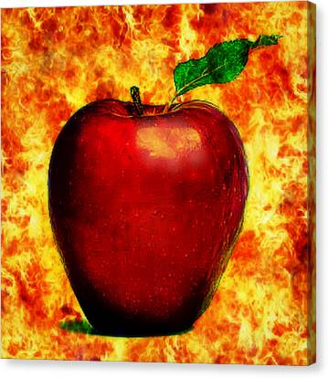 The Apple Of Eris Canvas Print