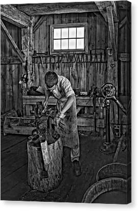 Pioneer Museum Canvas Print - The Apprentice Monochrome by Steve Harrington