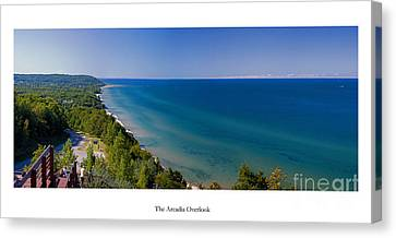 The Arcadia Overlook Canvas Print by Twenty Two North Photography