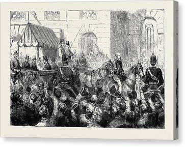 The Assassination Of Lord F.c. Cavendish And Mr Canvas Print