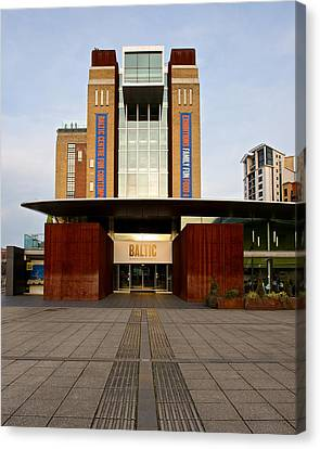 The Baltic - Gateshead Canvas Print by Stephen Taylor
